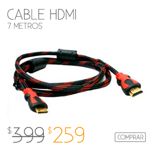 Cable HDM 7 Metros